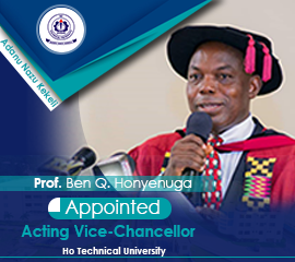 Appointment of Acting Vice-Chancellor