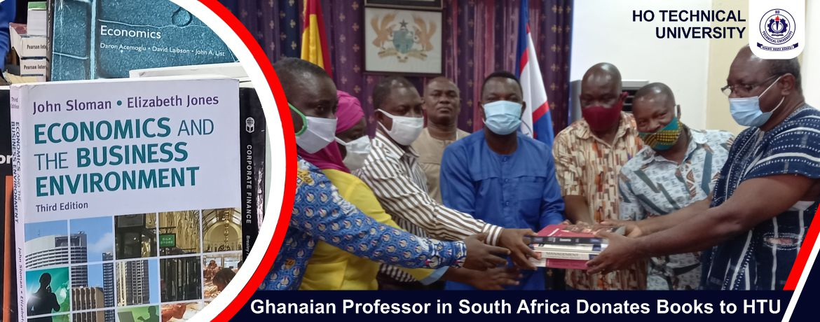 Ghanaian Professor in South Africa Donates Books to HTU
